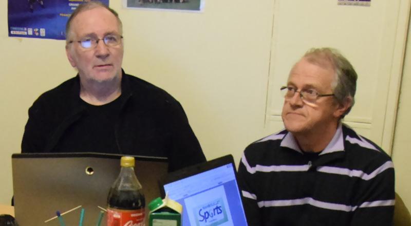 De gauche à droite : Jean-Michel Roulon, Jean-Louis Beaudoux