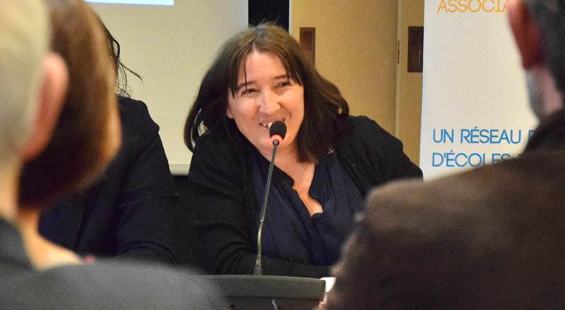Sabine Bollé - Présidente de l'USEP 78