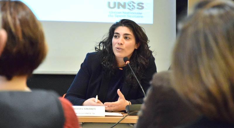 Alexandra Sananes - Directrice de l'UNSS 78