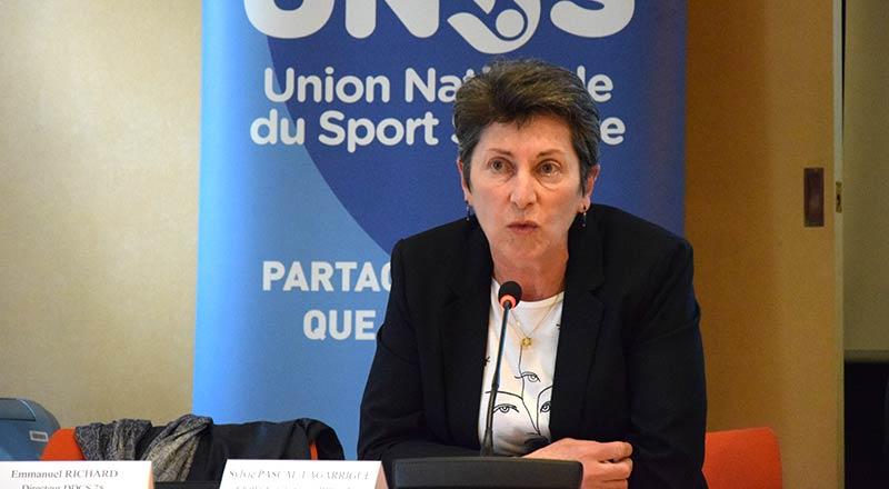 Sylvie Pascal-Lagarrigue - Cheffe du pôle sport - DDCS 78