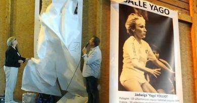 Rosny : inauguration de la salle Yago Folliot