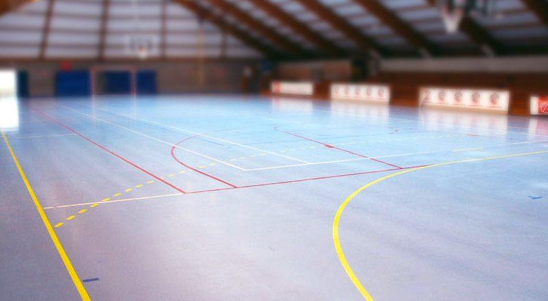 Gymnase-vide-ligue
