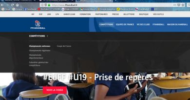 La FFHandball lance son nouveau site internet