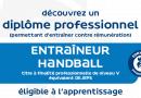 Titre à finalité professionnelle de niveau V :Entraineur de handball session 2021-2023